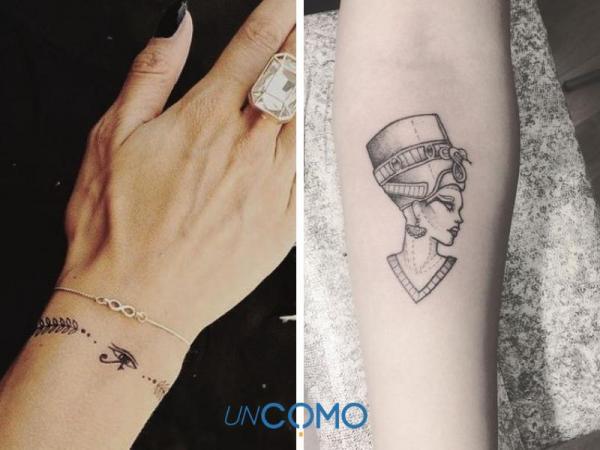 Tatuaje egipcio: significados - tatuajes de pulsera egipcia
