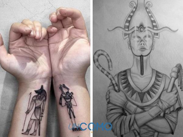 Tatuaje egipcio: significados - tatuaje egipcio de Osiris: significado