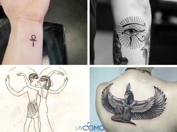 Tatuaje egipcio: significados - tatuaje egipcio: símbolo del amor