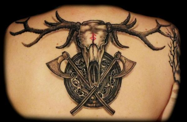 ¿Cuál es el significado de los tatuajes vikingos? El significado del tatuaje del guerrero vikingo
