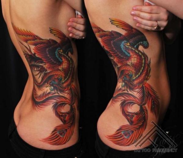 ¿Cuál es el significado de un tatuaje de fénix? El tatuaje de fénix como símbolo de fuerza