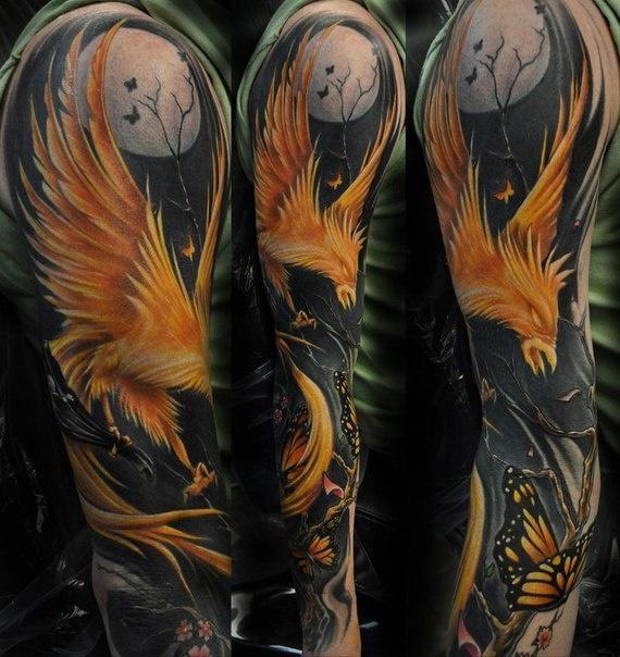 ¿Cuál es el significado de un tatuaje de fénix? Significados mitológicos del fénix