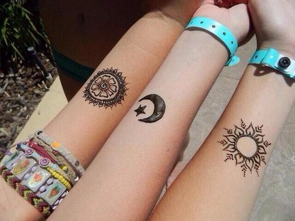 Tatuaje de la amistad - top 10 mejores tatuajes de amigos - diseños complementarios