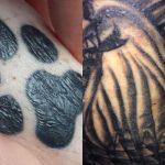¿Por qué está grabado mi tatuaje?