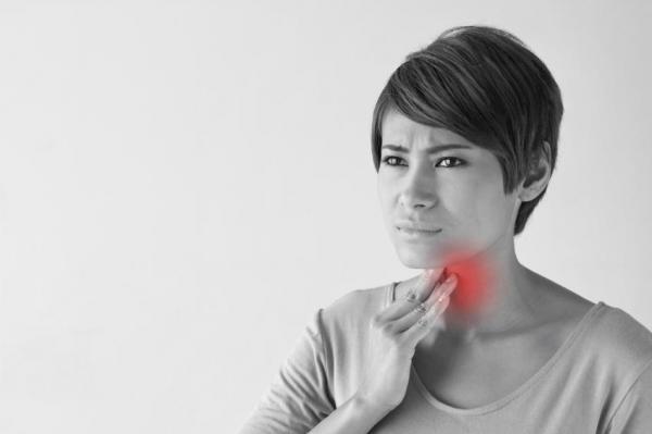 Causas de una sensación de ardor en la garganta - Paso 5