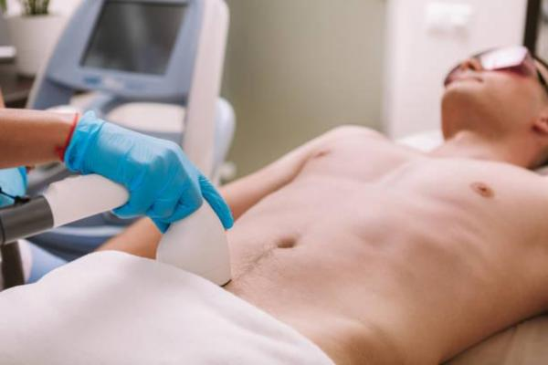 Depilación íntima masculina - depilación peneana - depilación láser peneana