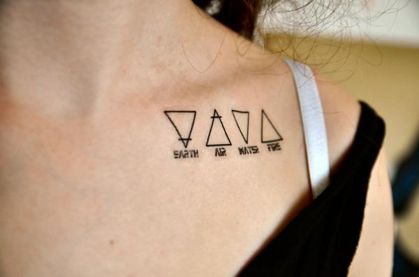 Cuál es el significado del tatuaje de triángulo doble - significado del tatuaje de triángulo