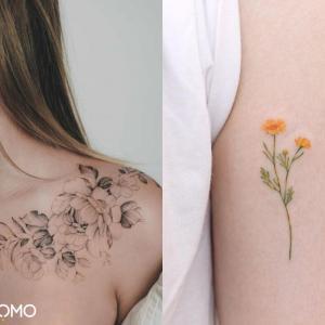 Tatouage de fleur : signification et symbolique