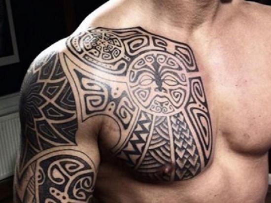 Significado de los tatuajes maoríes - Motivos y símbolos - Significado del símbolo maorí: el sol