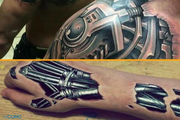 Style de tatouage - Old School, tribal, biomécanique et réaliste - Tatouage biomécanique