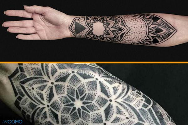 Style de tatouage - Old School, tribal, biomécanique et réaliste - Tatouage en pointillisme
