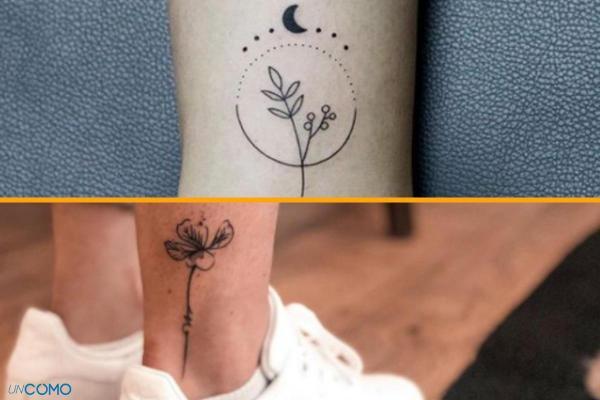 Style de tatouage - Old School, tribal, biomécanique et réaliste - Tatouage minimaliste