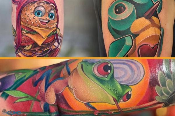 Style de tatouage - Old School, tribal, biomécanique et réaliste - Tatouage New school