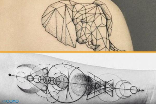 Style de tatouage - Old School, tribal, biomécanique et réaliste - Tatouage géométrique