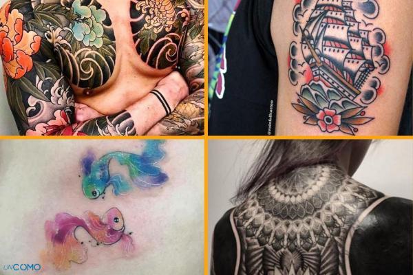 Style de tatouage - Old School, tribal, biomécanique et réaliste
