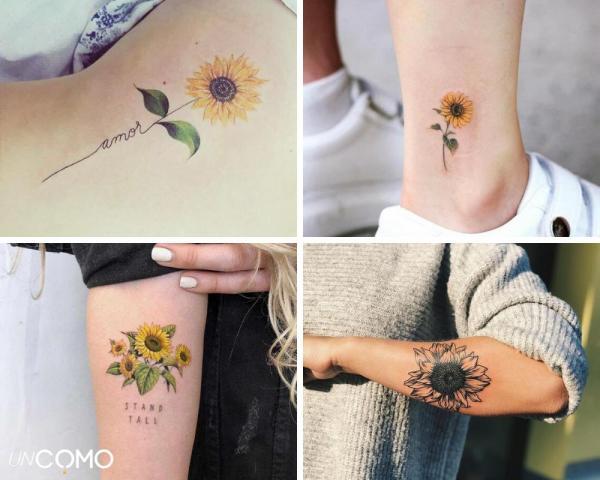 Tatuaje de flores: significado y simbolismo - significado del tatuaje de girasol