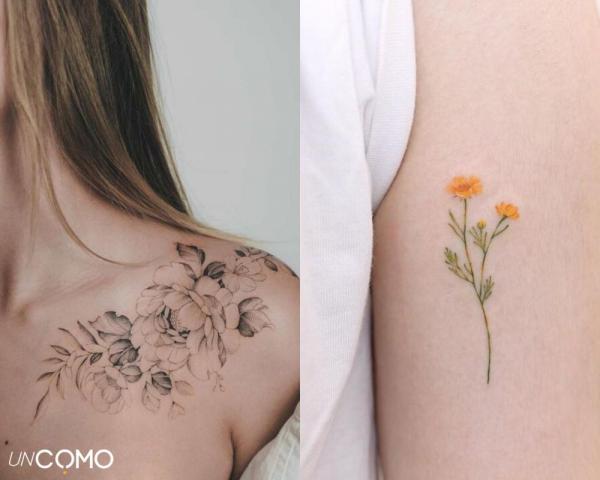 Tatuaje de flores: significado y simbolismo