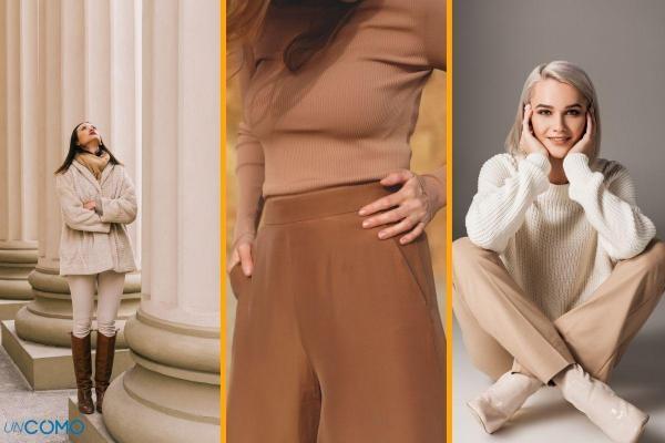 ¿Qué llevar con pantalones beige?  - Pantalón beige oscuro